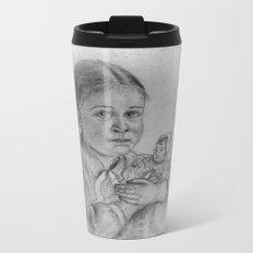 don't take away my doll -2- vintage Metal Travel Mug