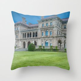 The Breakers in HDR Throw Pillow