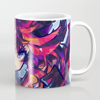 barachan Mugs featuring matoi by barachan