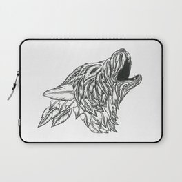 Feather Wolf Laptop Sleeve