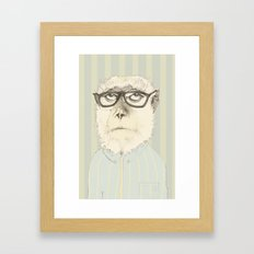 monkey gafapasta Framed Art Print