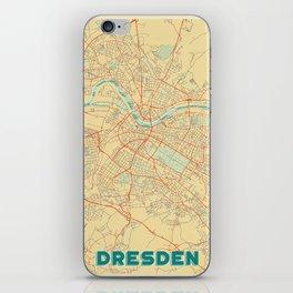 Dresden Map Retro iPhone Skin