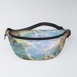 Crab Nebula Space Decor Fanny Pack