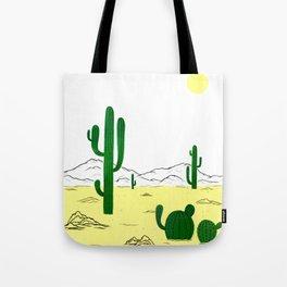 Man & Nature - The Desert Tote Bag
