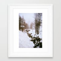 fairy tale Framed Art Prints featuring Fairy tale. by Carola Ferrero