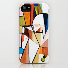 Abstract Beginning iPhone Case