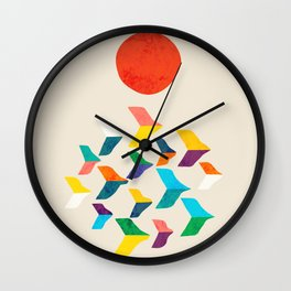 Great Bird Migration Wall Clock