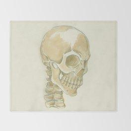 Skull Throw Blanket