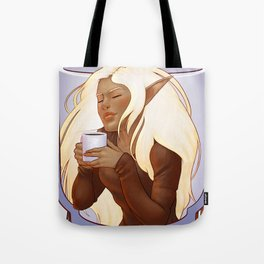 Elven Coffee Tote Bag