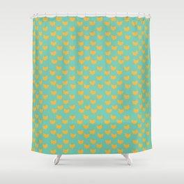 Inner Fox Shower Curtain