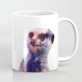 Galaxy Meerkat Coffee Mug