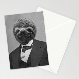 Gentleman Sloth 12 Stationery Cards