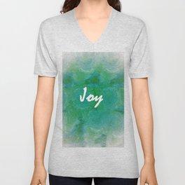 Joy Unisex V-Neck