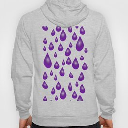 Purple Raindrops Hoody