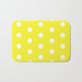 POLKA DOT ((sunshine yellow)) Bath Mat