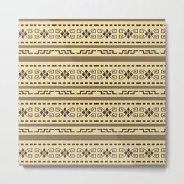 Big lebowski cardigan pattern Metal Print