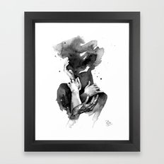 I miss your touch Framed Art Print