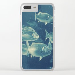 Fish 2 Clear iPhone Case