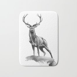 All Muscle - Red Deer Stag Bath Mat