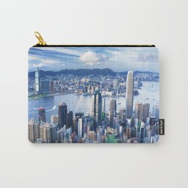 Hong Kong-Buildings Carry-All Pouch