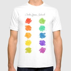 Color Your World Mens Fitted Tee White MEDIUM
