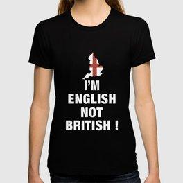 im english not british racing T-shirt