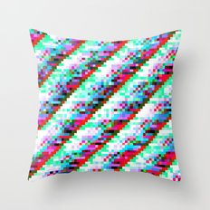 filtered diagonals Throw Pillow