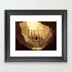 Ancient Ruins Framed Art Print
