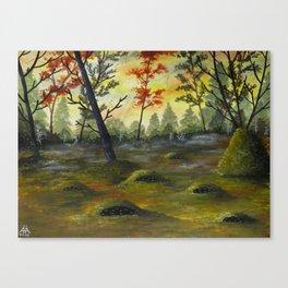 De Underjordiske Canvas Print