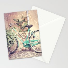 Bicycle Lights Stationery Cards