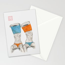 Peek-a-boo Stationery Cards