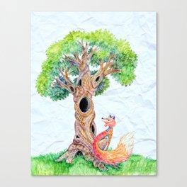 The Spirit Tree V2 Canvas Print