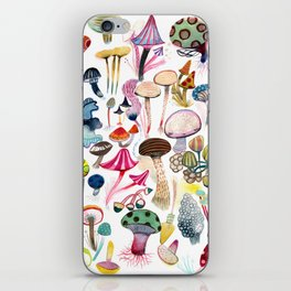 Mushroom Collection - b r i g h t s iPhone Skin