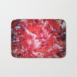 Red navigation light Bath Mat