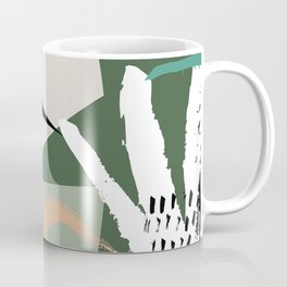 Abstract /Botanical Coffee Mug