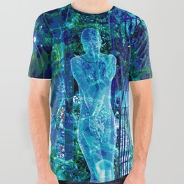 Blue Spirit All Over Graphic Tee
