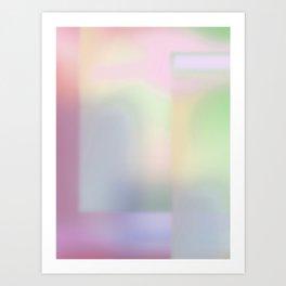 Dimension II - Gradient Art Print