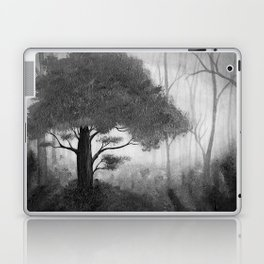 The Dark Forest (B&W) Laptop & iPad Skin