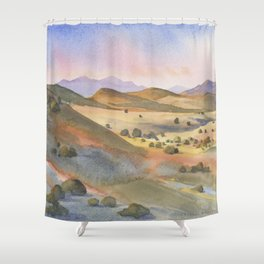 The Foothills of Sierra County Shower Curtain