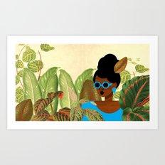 Bayou Girl III Art Print