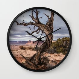 Desert Dancer at Canyonlands National Park Wall Clock