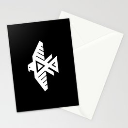 Thunderbird flag - HD image inverse Stationery Cards