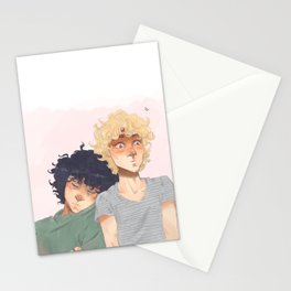 Sudden Realisation of Affection Stationery Cards