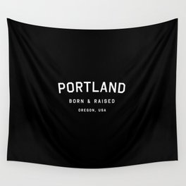 Portland - OR, USA (Arc) Wall Tapestry
