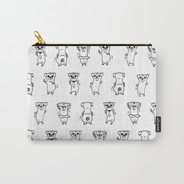 The Dancing Pugs Carry-All Pouch