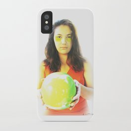 """""""Eve and Earth"""" iPhone Case"""