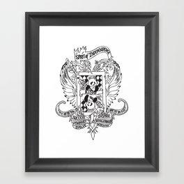 Spirit autism Framed Art Print
