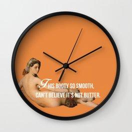 Bitches & Monet - Major Lazer & Ingres Wall Clock