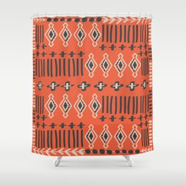 Terracotta Shower Curtain