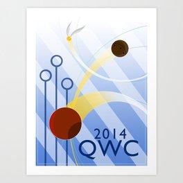 Quidditch World Cup 2014 Art Print